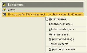 RSPC : Processus avec message