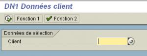 SSCRFIELDS : Boutons dans un écran de sélection